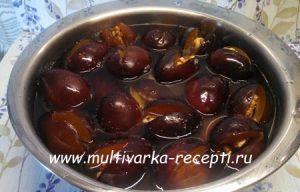 Варенье из слив с орехами