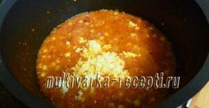 Нут в томатном соусе на зиму