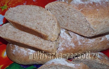 hleb-iz-celnozernovoj-muki-хлеб из цельнозерновой муки
