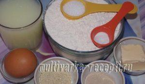 Хлеб — плетенка на сыворотке с кунжутом в духовке