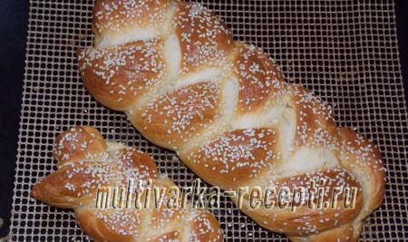 hleb-pletenka-na-syvorotke-хлеб плетенка на сыворотке