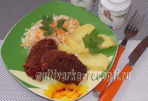 kotlety-iz-svekly-i-morkovi-Котлеты из свеклы и моркови