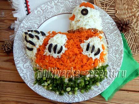 salat-kurochka-na-novyj-god-салат курочка