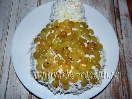 salat-naryadnaya-kurochka-so-svekloj-i-vetchinoj-3