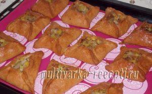 Пирожки с картошкой и шкварками в духовке