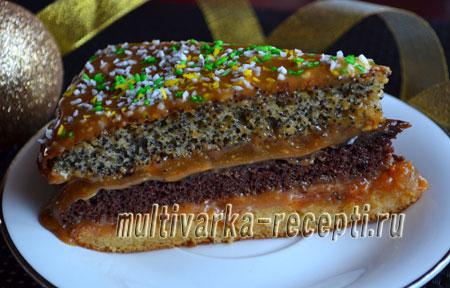 tort-damskij-kapriz-recept-Торт Дамский каприз рецепт