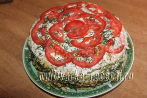 кабачковый торт, торт из кабачков