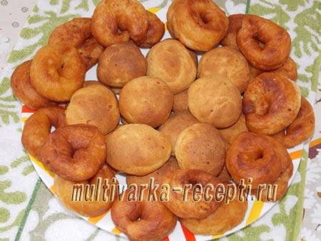 Картофельные пышки из пюре: рецепт с фото