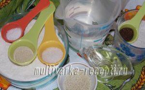 Пшенично-ржаной хлеб «Мраморный» в духовке