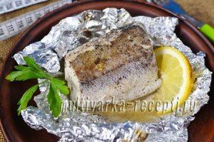 Рыба в фольге на сковороде рецепт