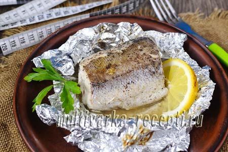 Рыба в фольге на сковороде