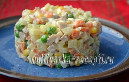 Салат из кролика рецепт