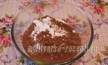Пирог с бананом и шоколадной крошкой в мультиварке - рецепт пошаговый с фото
