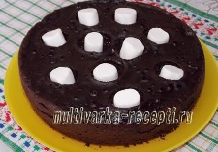 шифоновый бисквит с какао