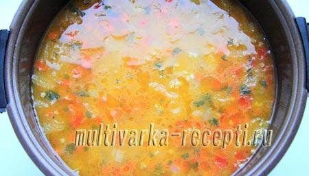 суп с пшеном в мультиварке