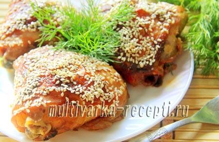 Бедрышки в духовке в медово-соевом маринаде