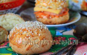 Картофельные булочки: рецепт с фото пошагово