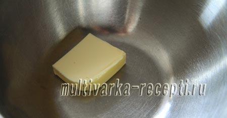Масло заранее достаем из холодильника