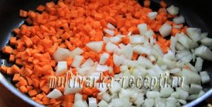Курица с рисом и кукурузой в духовке