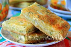 Пирог с сыром и луком в духовке