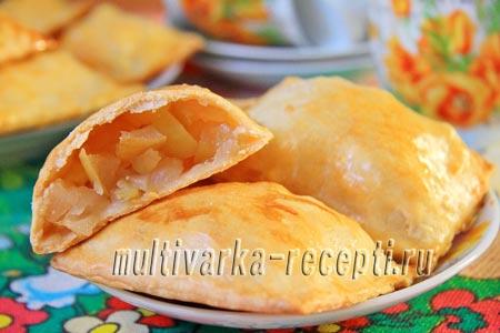 Рецепт вкусных пирожков с яблочной начинкой