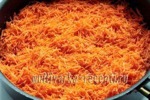 Морковная запеканка в духовке