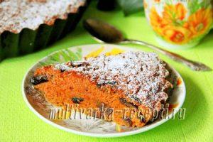 Морковная запеканка в духовке: рецепт с фото