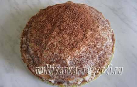 Как приготовить шоколадный блинный торт
