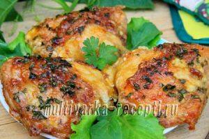 Куриные бедра в духовке с сыром: пошаговый рецепт с фото