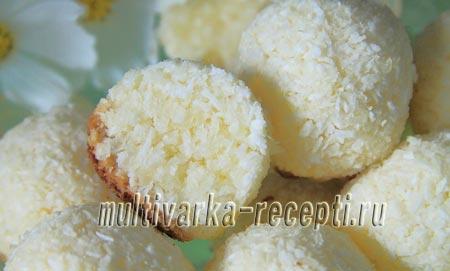 Как приготовить кокосовое печенье в мультиварке