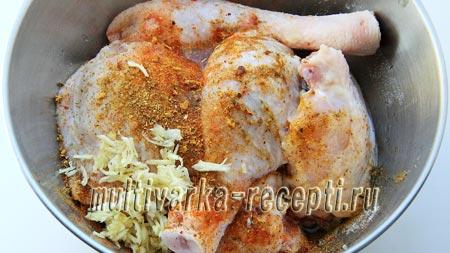 вкусная курица с картофелем в духовке рецепт с фото