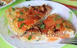 Мандирмак или овощи с яйцами на сковороде