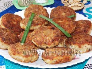 Мясные котлеты с грибами, пошаговый рецепт с фото