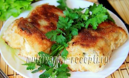рецепт минтая с сыром