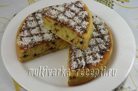 Морковно-кокосовый пирог в мультиварке рецепт с фото