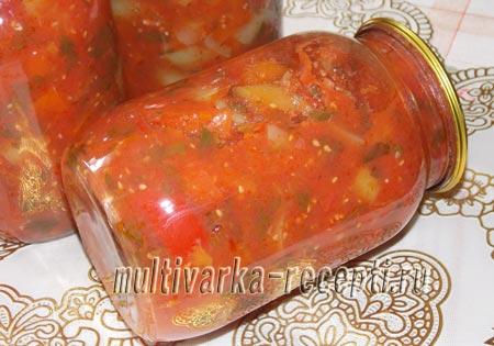 соус из помидоров и перца