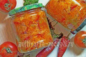 салат кубанский в мультиварке