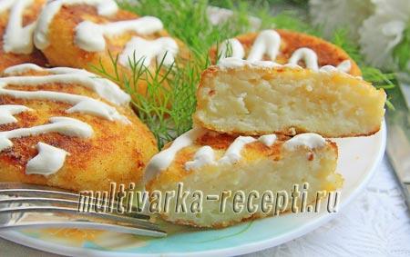 биточки картофельные рецепт с сыром
