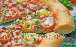 пицца в микроволновке рецепт