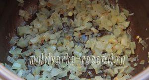 Макароны с грибами в сливочном соусе в мультиварке