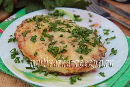 рецепт отбивных в панировке из картофеля
