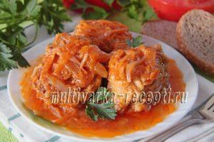 Минтай в томатном соусе рецепт