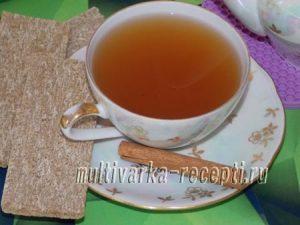 Полезный имбирный чай