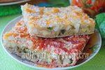Заливной пирог с яйцом и луком в духовке