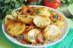Картофель в рукаве с овощами в духовке