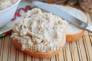 паста-намазка с икрой минтая рецепт