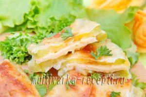 Кабачковые сэндвичи с сыром в духовке