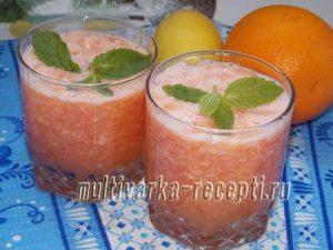 Как приготовить цитрусовый фреш