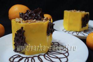 Пирожное медово-имбирное «Соты»