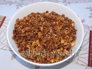 Как приготовить ореховую гранолу